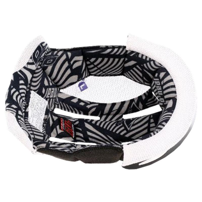 Coiffe de casque pour casque O'Neal 7SRS Evo à partir de 2016 noir/blanc