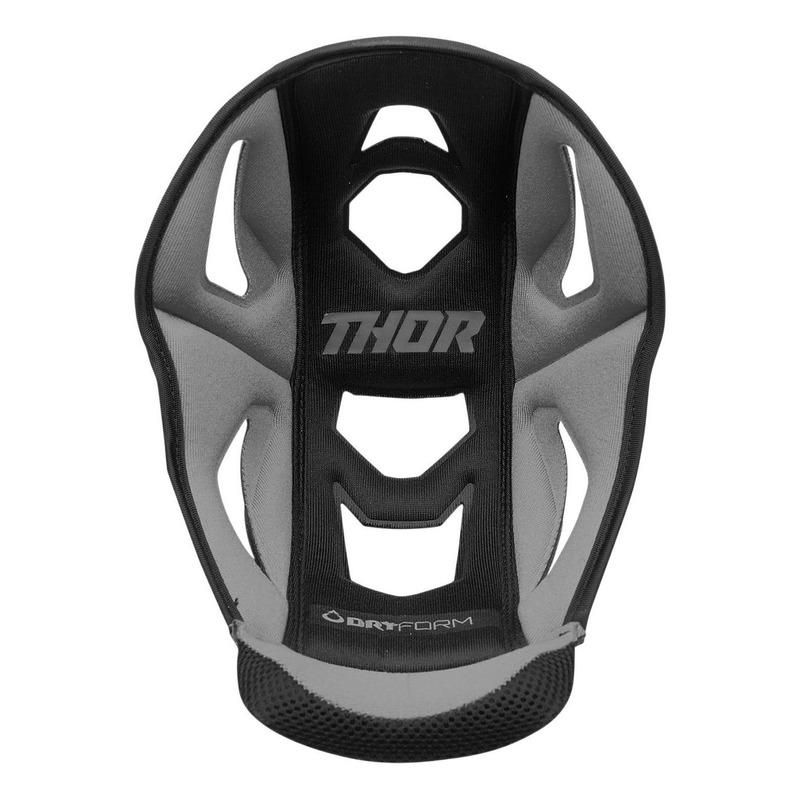 Coiffe de casque Thor Reflex gris