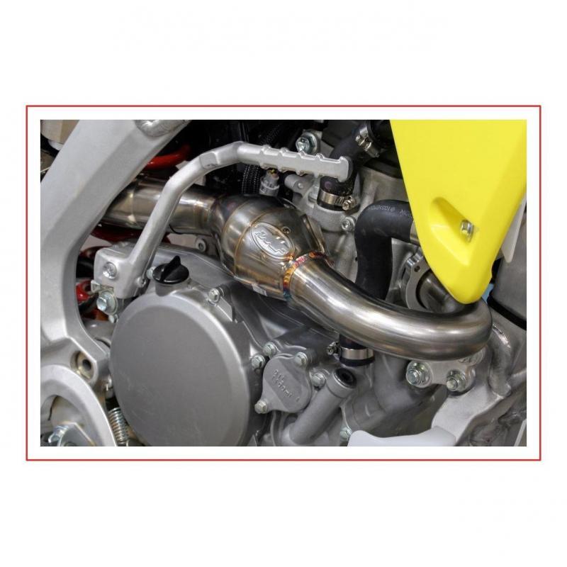 Collecteur FMF Powerbomb titane Suzuki RM-Z 250 10-12