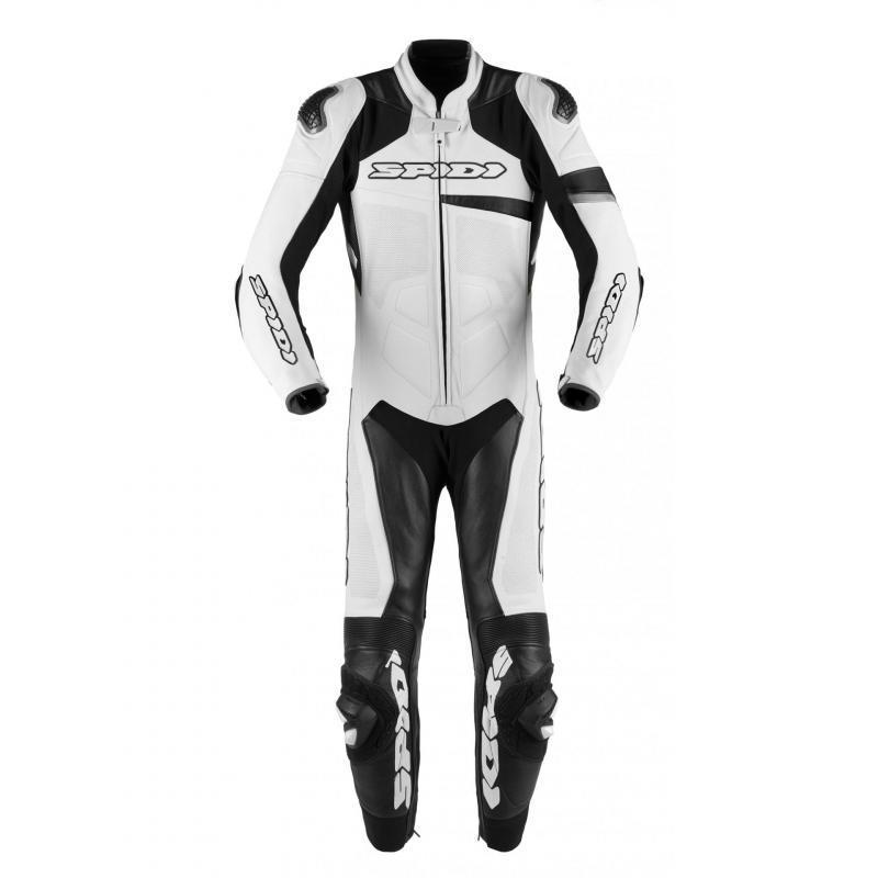 Combinaison Spidi RACE WARRIOR PERF blanc/noir