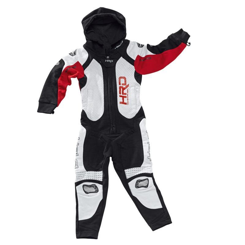 Combinaison textile bébé Held JUMPSUIT noir/rouge