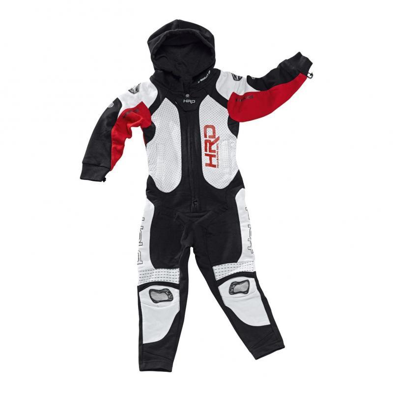 Combinaison textile enfant Held JUMPSUIT noir/rouge