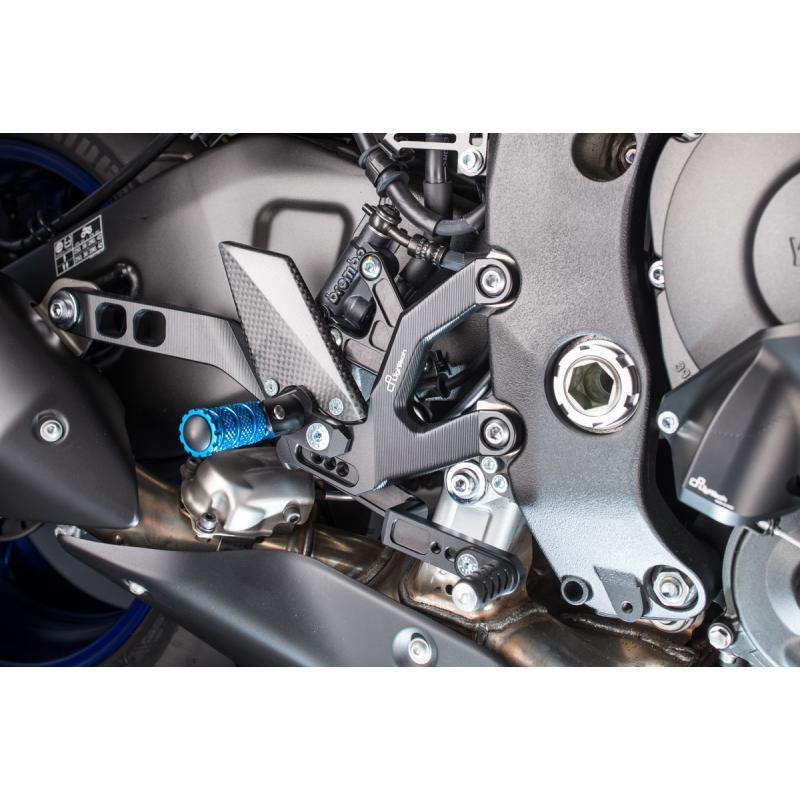 Commandes reculées multi-positions Lightech pour Yamaha MT-10 16-17