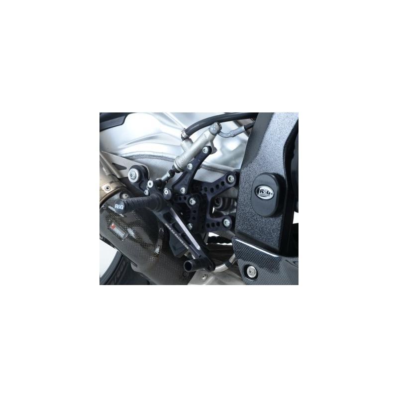 Commandes reculées R&G Racing noir Honda BMW S 1000 RR 10-14