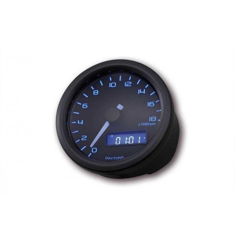 Compte-tours Daytona Velona 18000 trs/mn noir