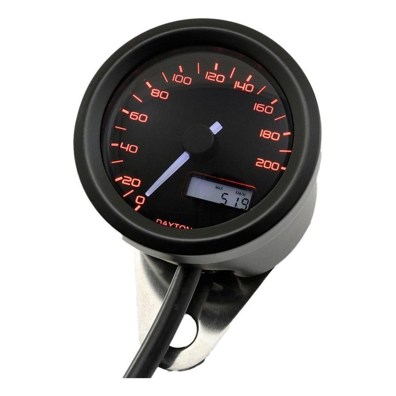 Compteur de vitesse Daytona VELONA 48 - 200 km/h / MPH