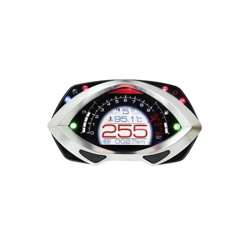 Compteur Koso RXF LCD noir / argent