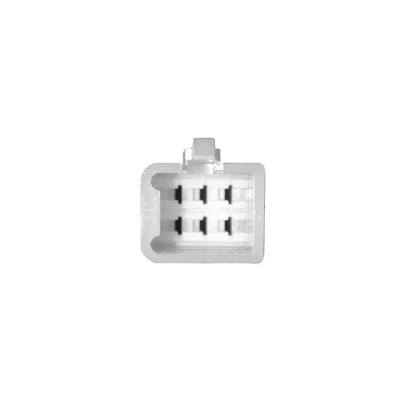 Connectique pour régulateur femelle à languette - 6 cosses mâles mini
