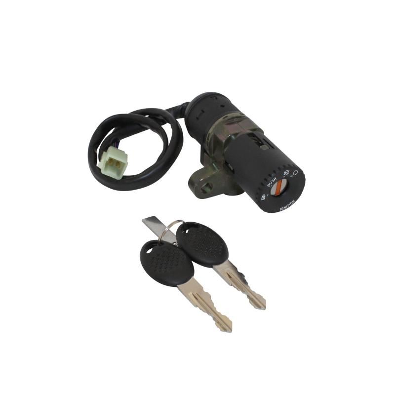 Contacteur à clé adaptable MBK 50 x-power 2003>/Yamaha 50 tzr 2003>