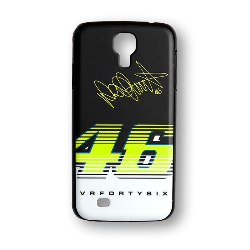 Coque Samsung S4 VR46 Valentino Rossi noir