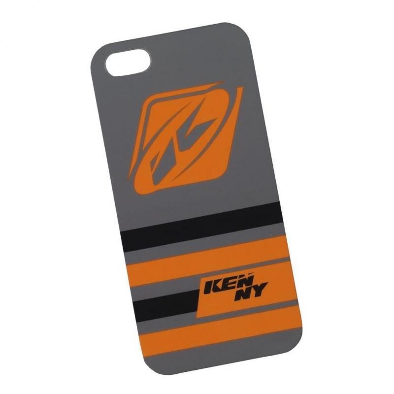 Coque téléphone Kenny I-Phone 5 gris/orange