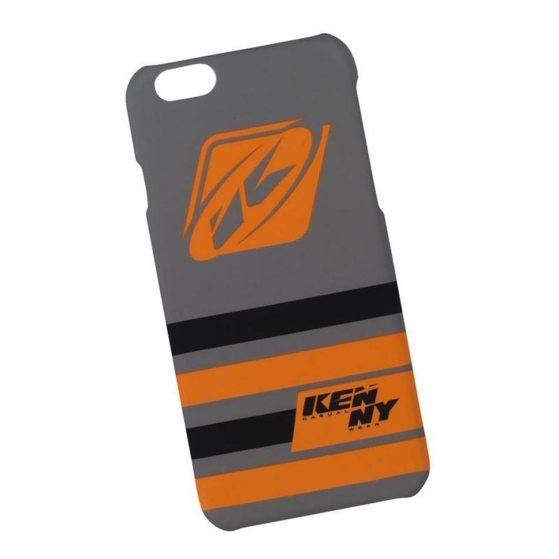 Coque téléphone Kenny I-Phone 6/6S gris/orange