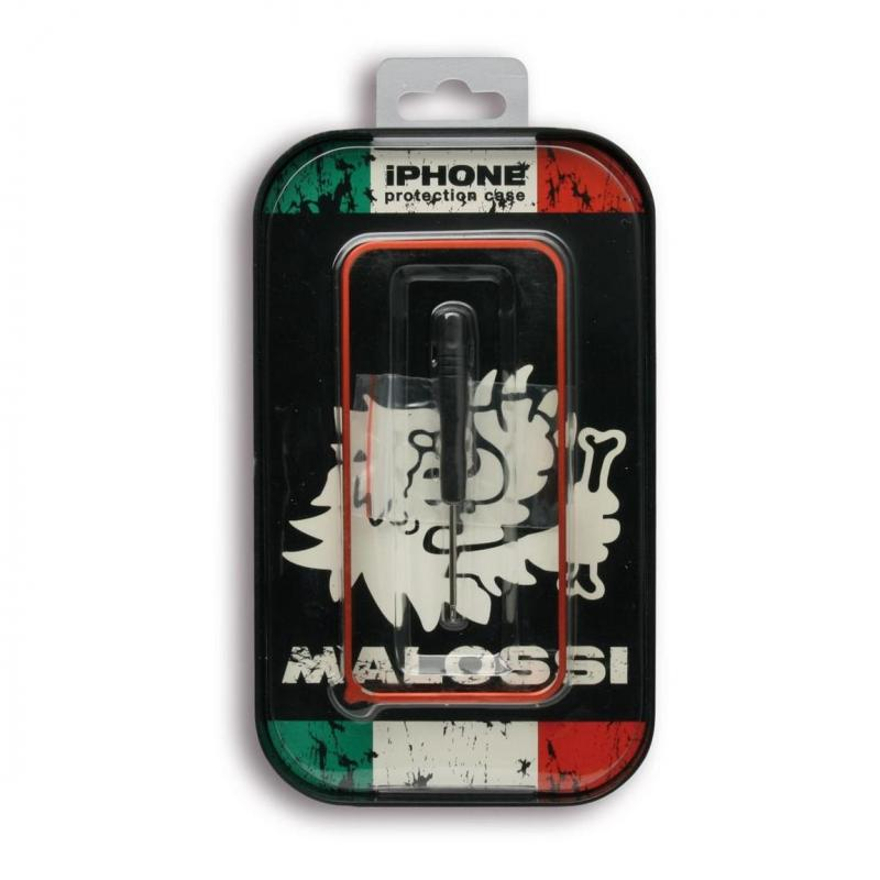 Coque téléphone Malossi en aluminium IPhone 5/5S