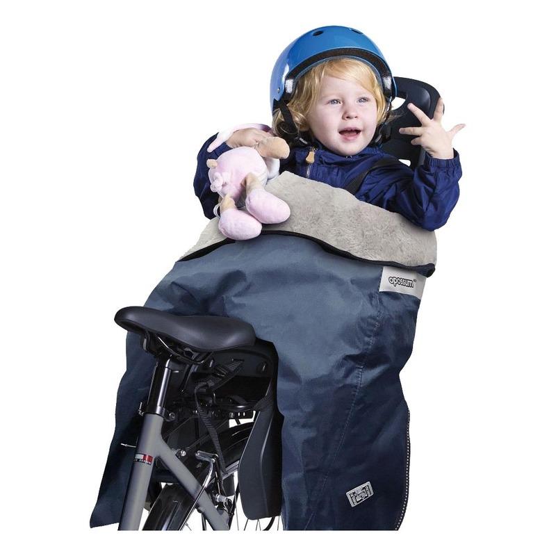 Coque thermique vélo Tucano Urbano Opposum pour porte bébé bleu