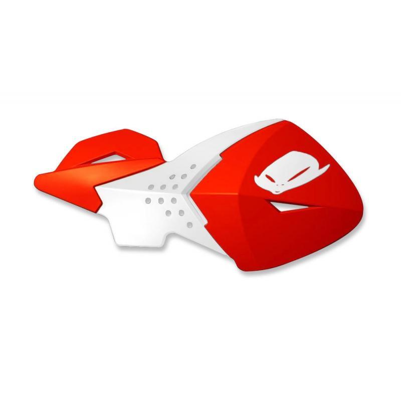 Coques de protège-mains UFO Escalade rouge (rouge CR/CRF 00-18)