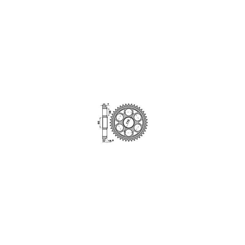 Couronne PBR 42 dents Ducati 1098-1099-1198-1200