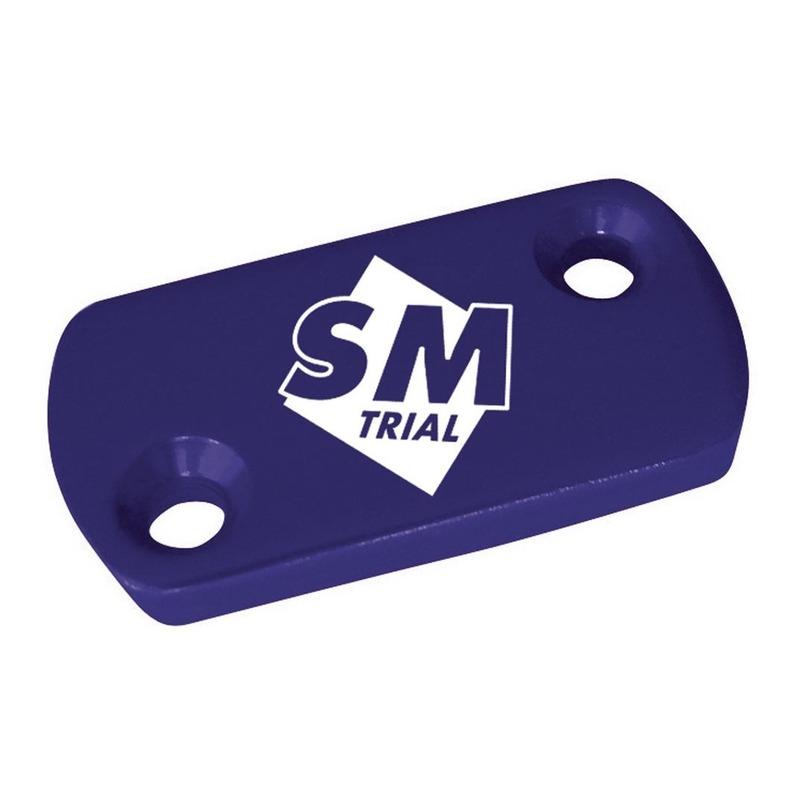 Couvercle bleu pour petit maître cylindre trial
