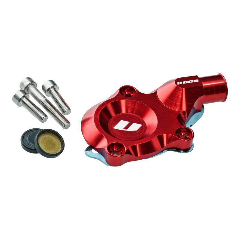 Couvercle de pompe à eau Voca Racing CNC rouge AM6