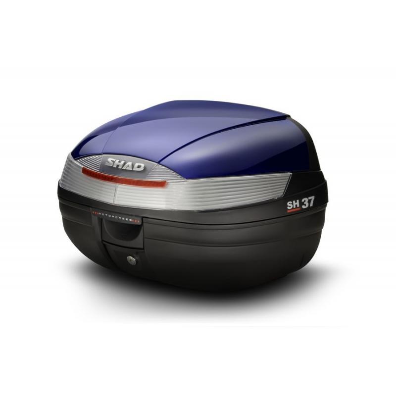 Couvercle top case SHAD SH37 Bleu