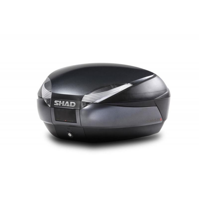 Couvercle top case SHAD SH48 Gris Foncé