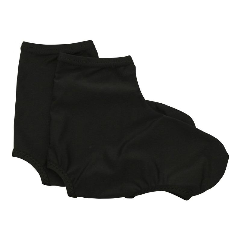 Couvre-chaussures été Newton Lycra noir