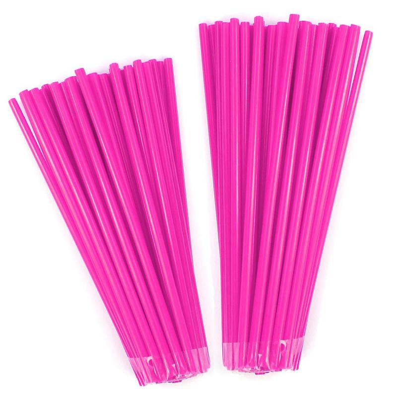 Couvre rayons Noend rose fluo