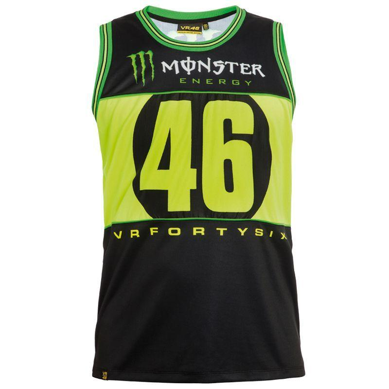 Débardeur VR46 Valentino Rossi Monster noir 2016