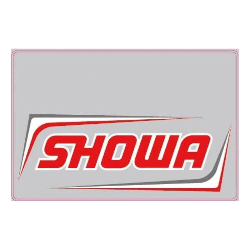 Déco de protection de fourches SHOWA fond transparent/rouge
