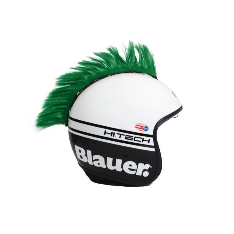 Décoration de casque Chaft crête vert