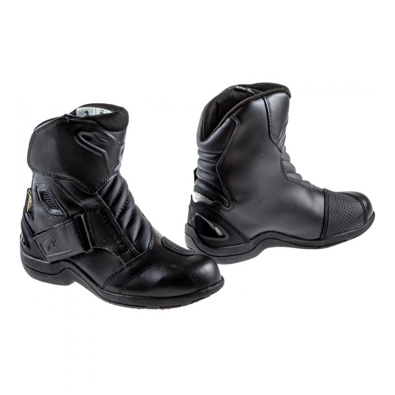 Demi-bottes Alpinestars NEW LAND Gore-tex noir