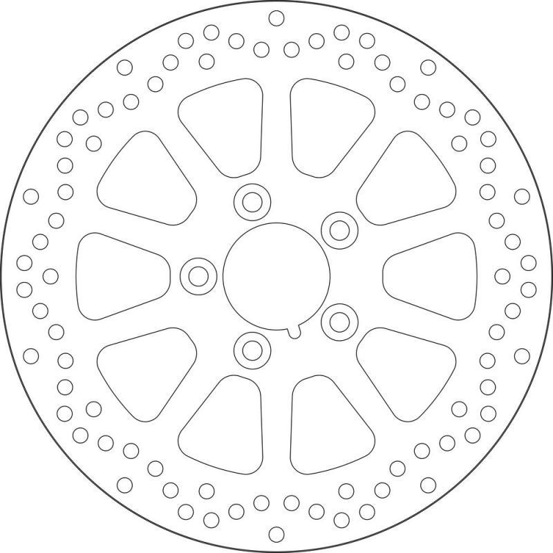 Disque de frein arrière SBS 5156
