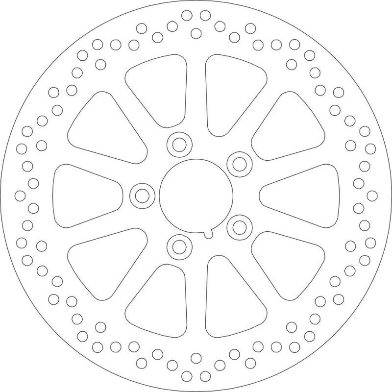 Disque de frein arrière SBS 5160