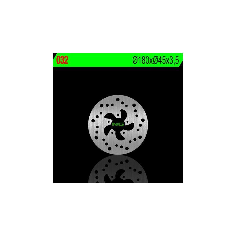 Disque de frein NG Brake Disc D.180 avant droit GAS GAS PAMPERA 250 de 1998 - 032