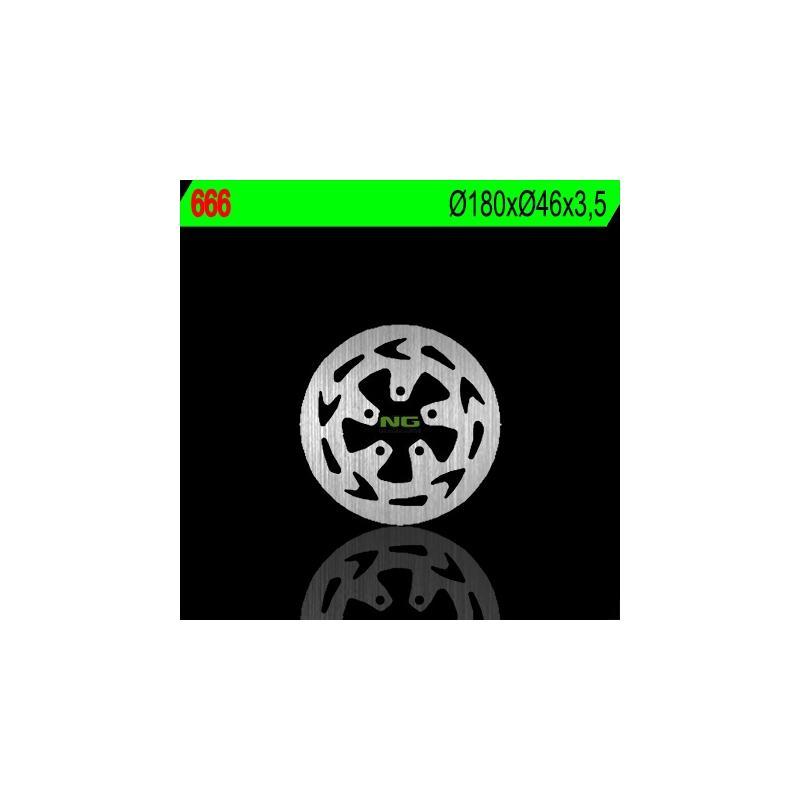 Disque de frein NG Brake Disc D.180 fixe - 666
