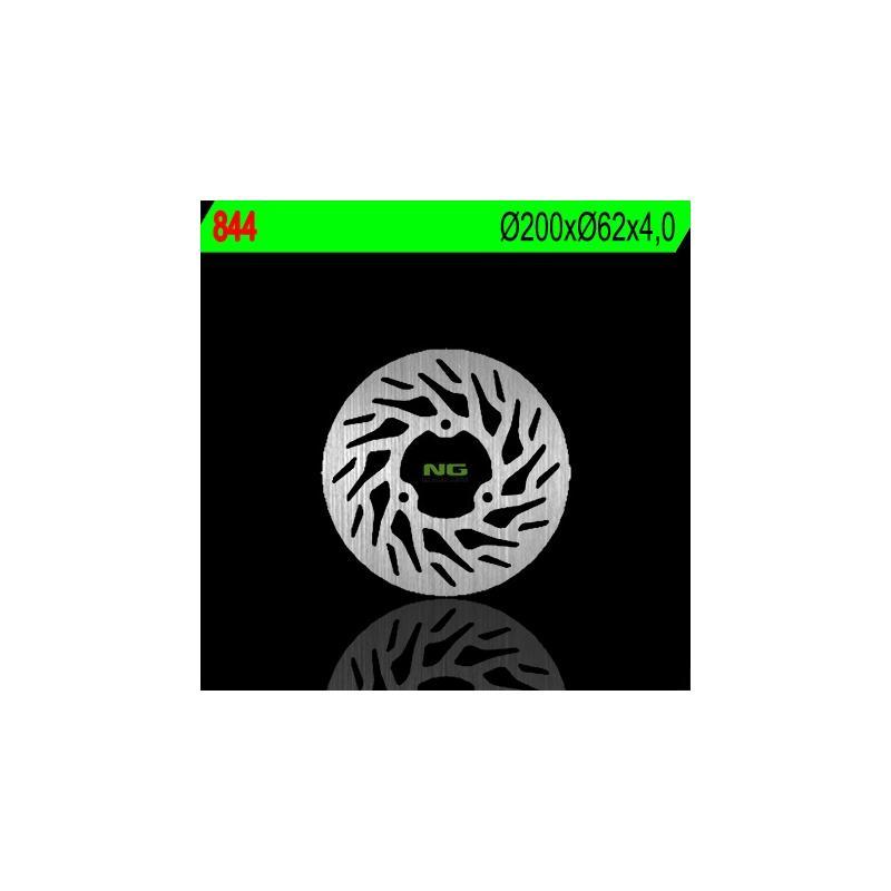 Disque de frein NG Brake Disc D.200 RIEJU SMX 50 de 2004, 2008 - 844
