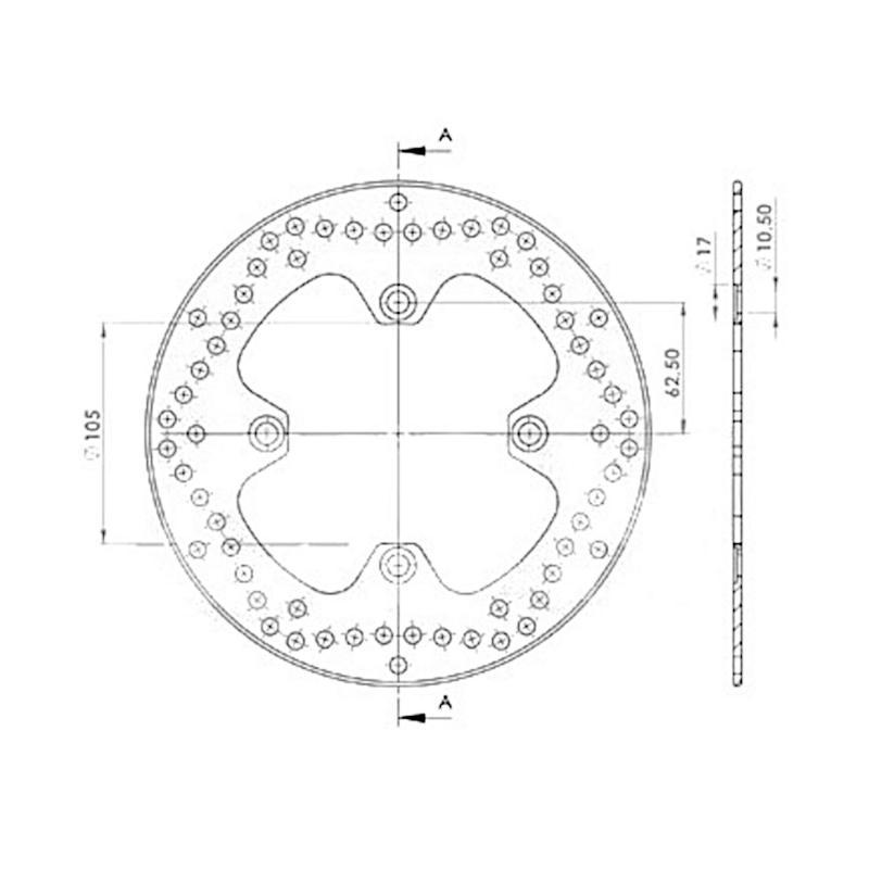 Disque de frein NG Brake Disc D.240 - 364
