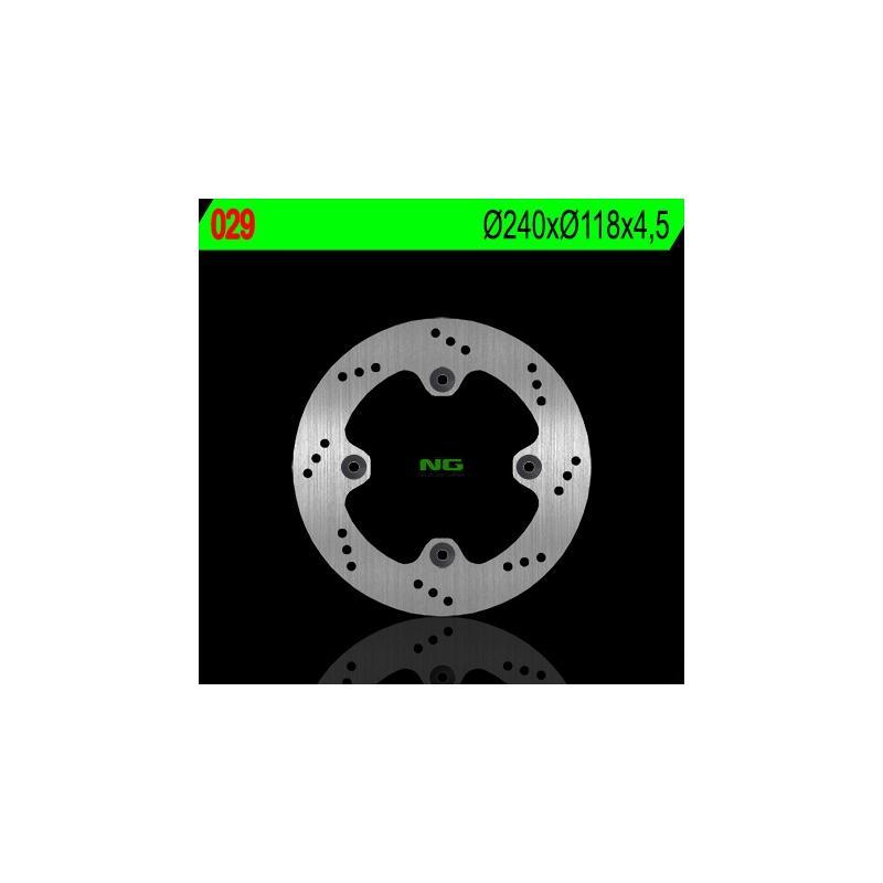 Disque de frein NG Brake Disc D.240 arrière droit - 029