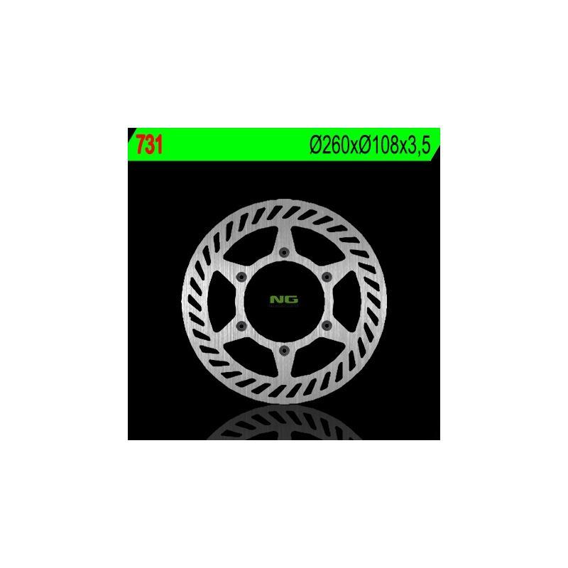 Disque de frein NG Brake Disc D.260 Gas Gas - 731