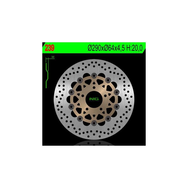 Disque de frein NG Brake Disc D.290 Suzuki - 239
