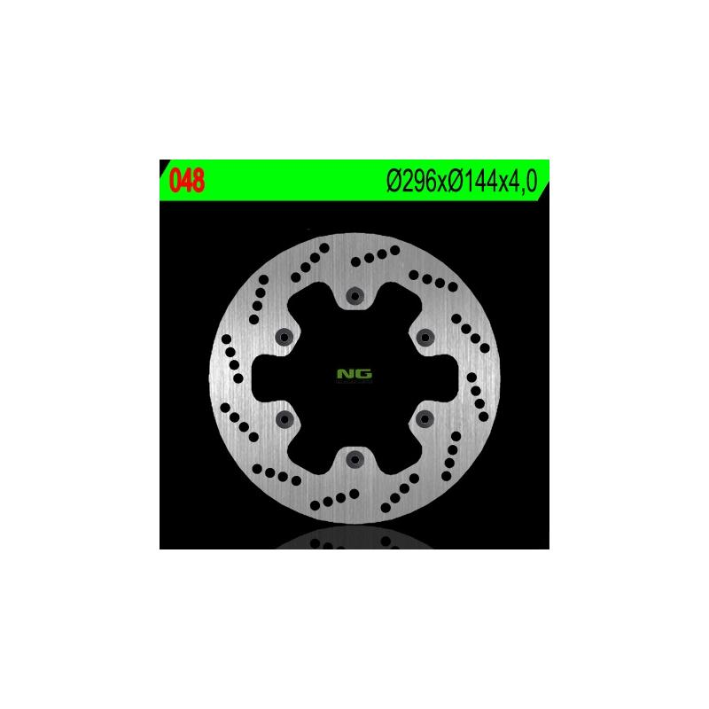 Disque de frein NG Brake Disc D.296 avant gauche - 048