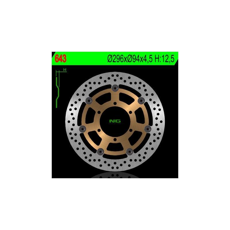 Disque de frein NG Brake Disc D.296 Honda - 643