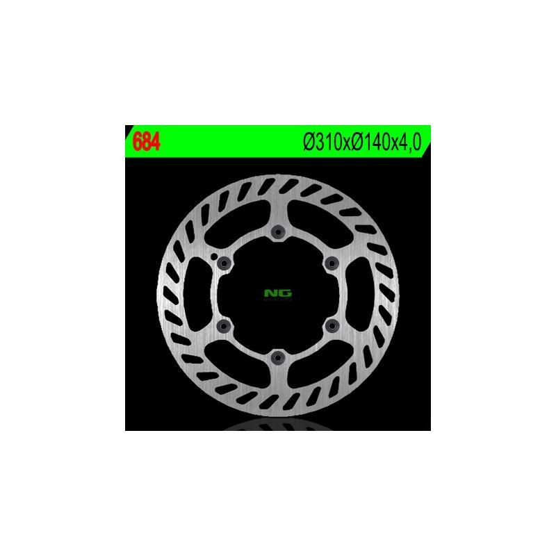 Disque de frein NG Brake Disc D.310 BETA VSP350 de 2003 - 684 Beta M4 350 Supermotard 4T 06-07