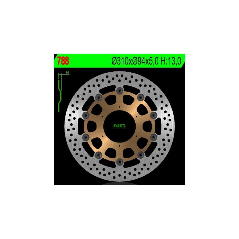 Disque de frein NG Brake Disc D.310 Honda - 788
