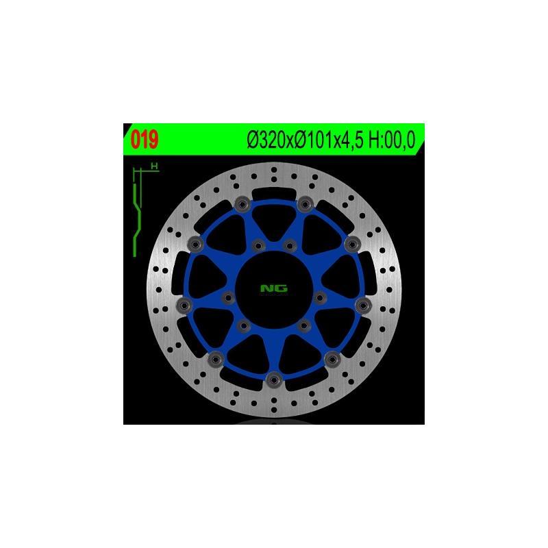Disque de frein NG Brake Disc D.319,5 flottant - 019