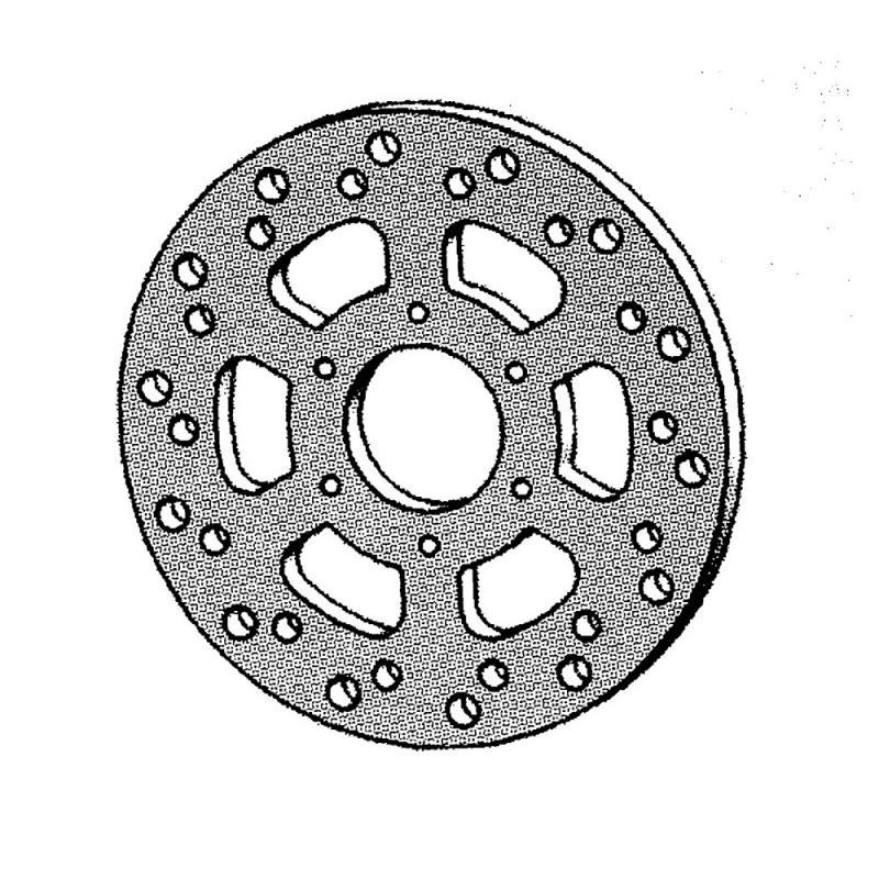 Disque frein NG Brake arrière RX 50/XR6/XR7