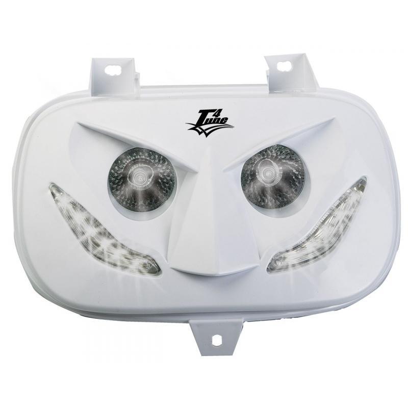 Double optique blanche Booster 1999-03 LEDs Blancs