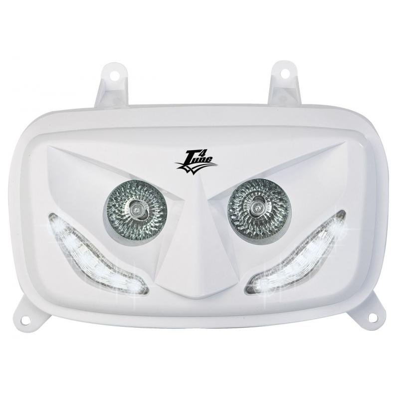 Double optique blanche Booster 2004- LED Blanches