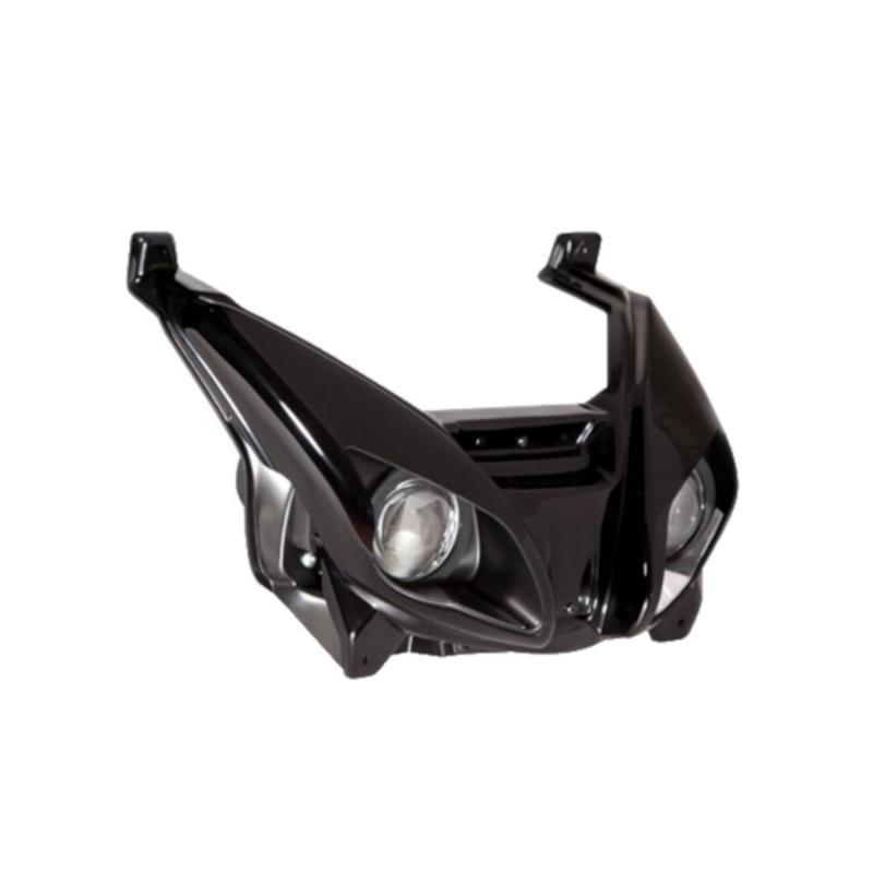 Double optique lenticulaire BCD Yamaha Xmax 06-10 noir