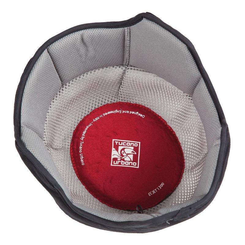 Doublure intérieure détachable de casque Tucano Urbano pour casque EL'Jet gris