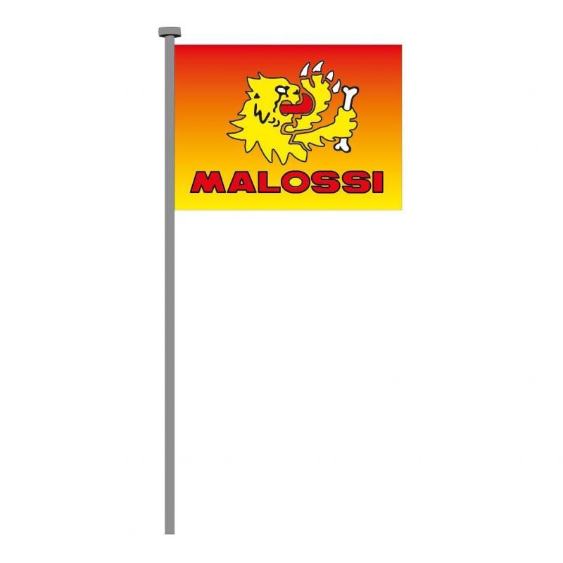 Drapeau Malossi avec logo